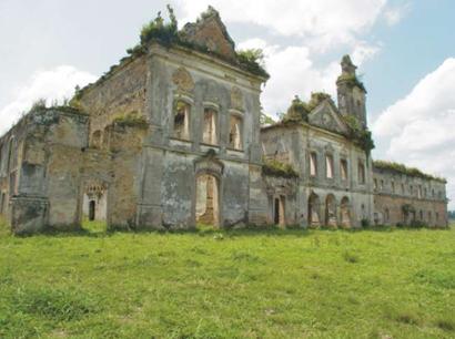 Ruínas do convento São Boaventura, em Itaboraí. (Foto: Reprodução   Internet)