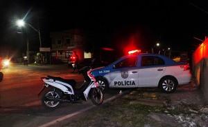 Operação contou com o apoio da Polícia Militar. (fotos: João Henrique / Maricá Info)