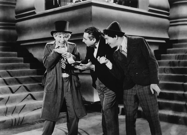 """The Marx Brothers in """"Animal Crackers,"""" screening October 27th at the Egyptian Theatre"""