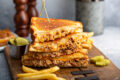 Recipe: Smokey Mesquite Grilled Cheese Sandwich Using AdapTable Meals Meats