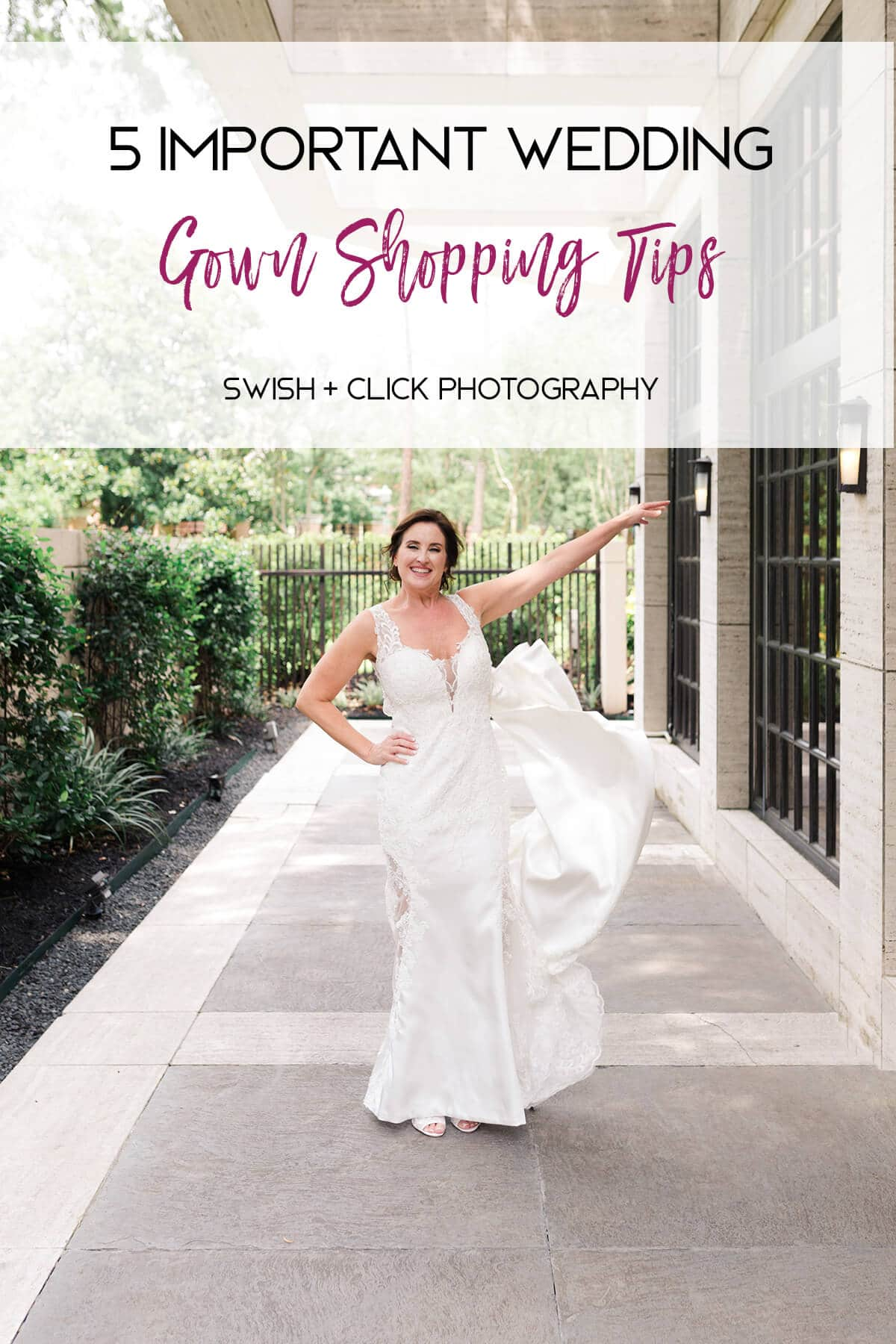5 Important Wedding Gown Shopping Tips