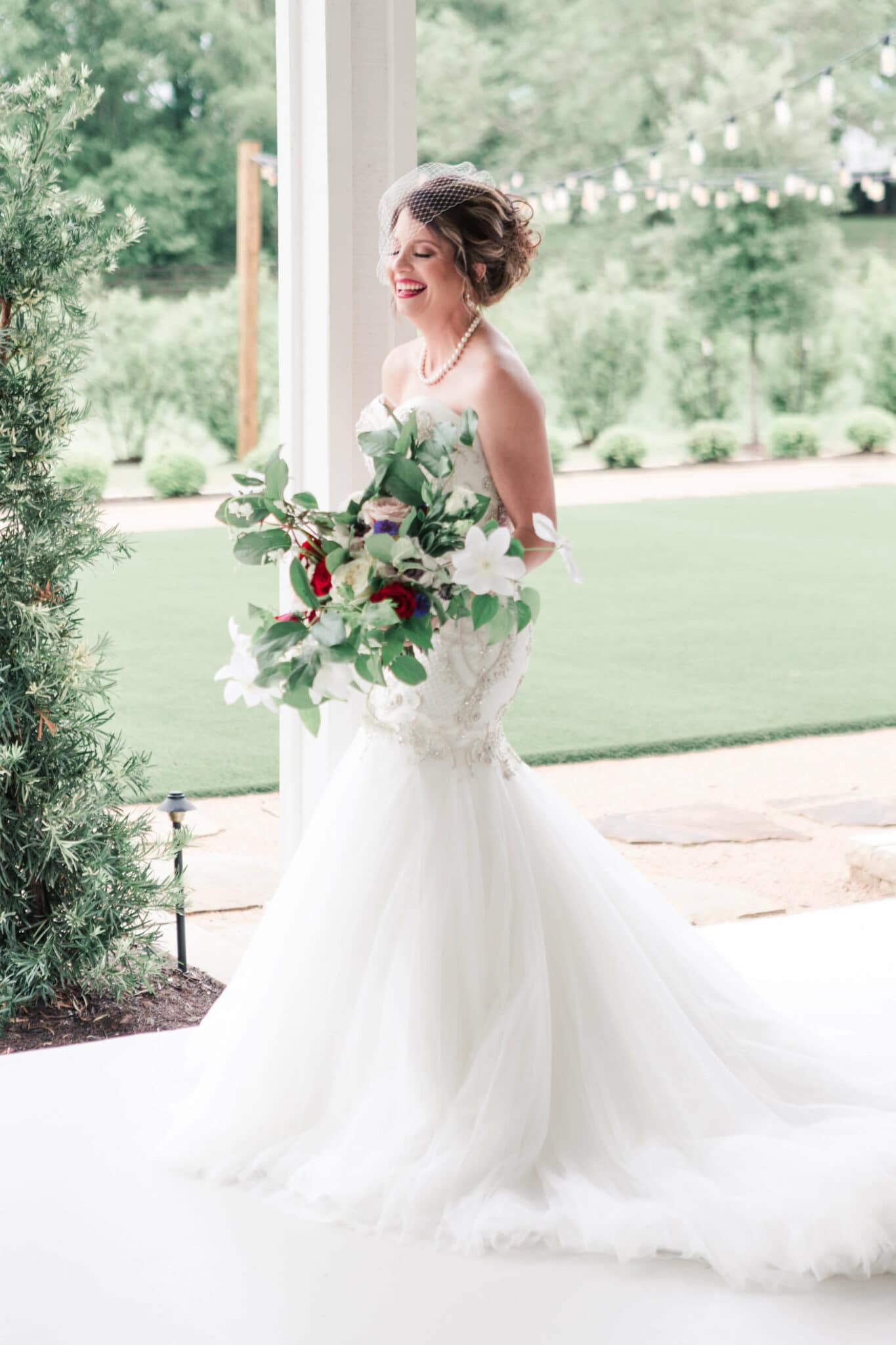 bridal session at The Farmhouse in Magnolia, Texas photographed by Swish and Click Photography