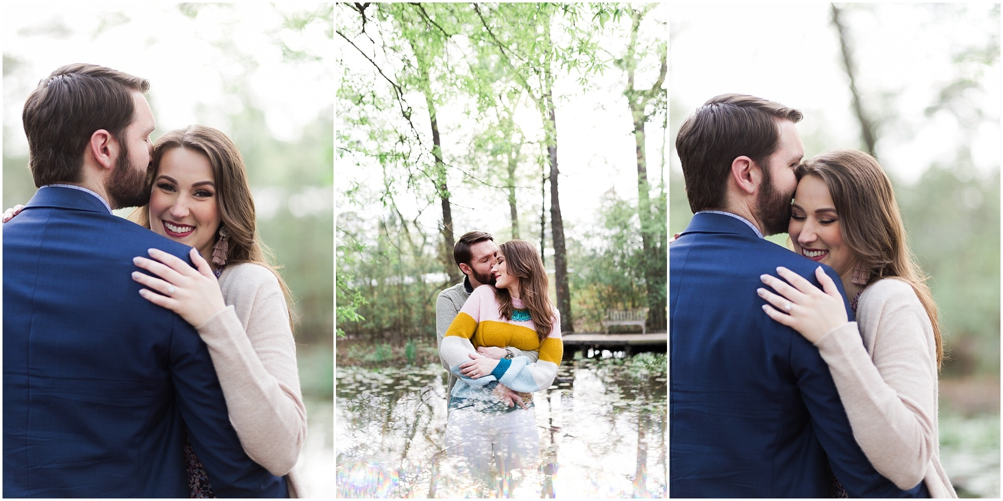 Engagement Session captured by Houston Photographer Swish and Click Photography