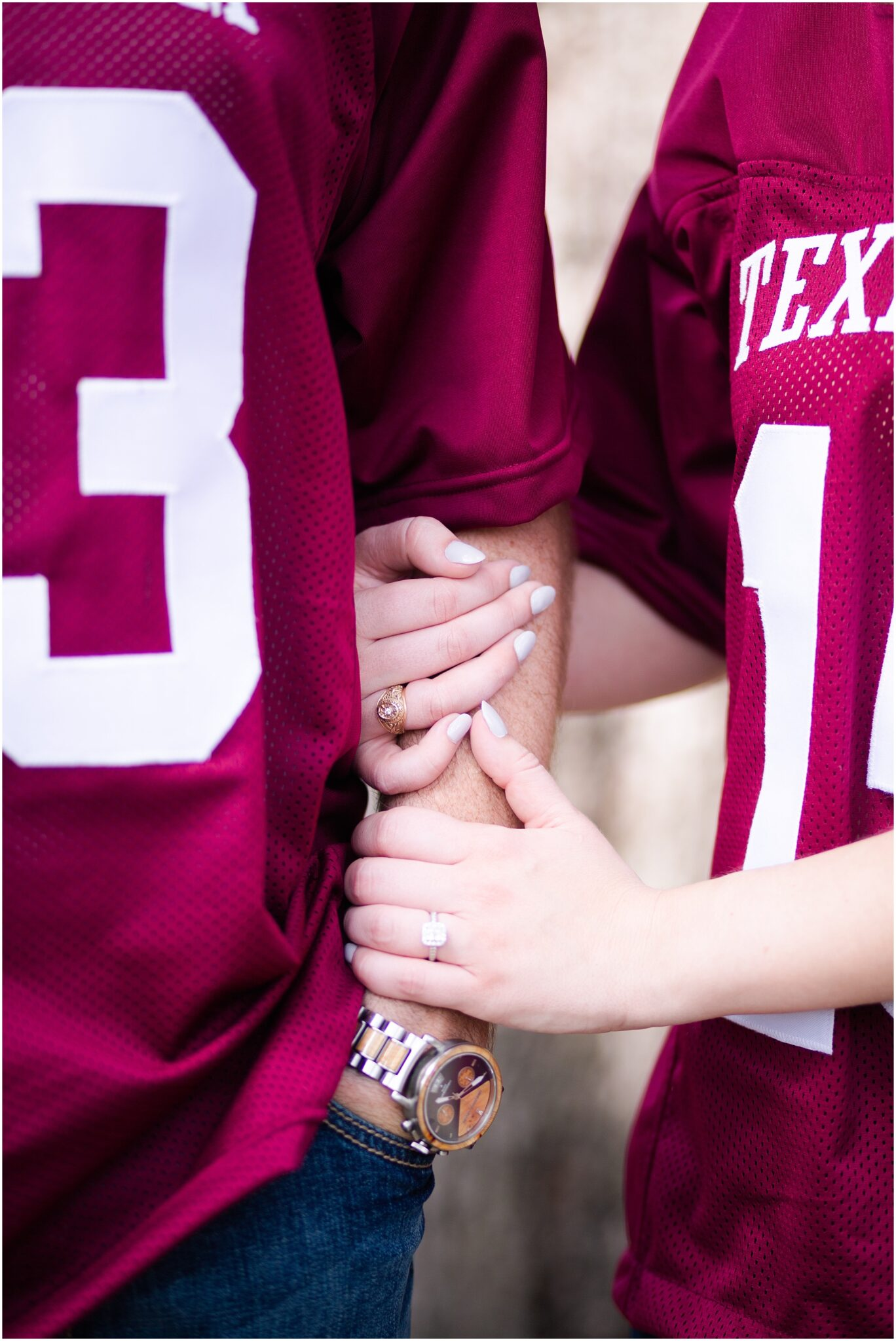 College Station wedding details