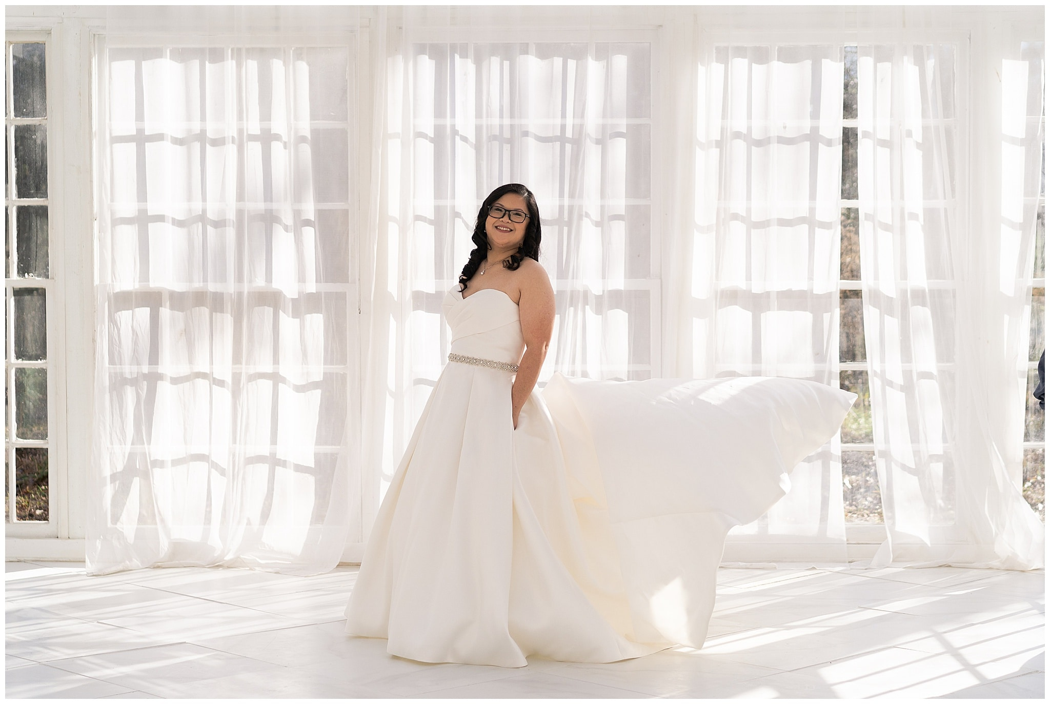 Houston Bridal Session at the Oak Atelier with Grace