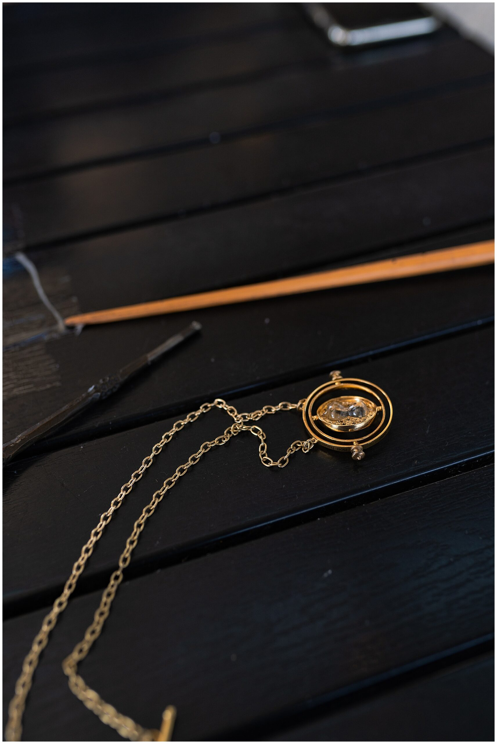 Harry Potter time turner at St Arnold's brewery by Swish and Click Photography