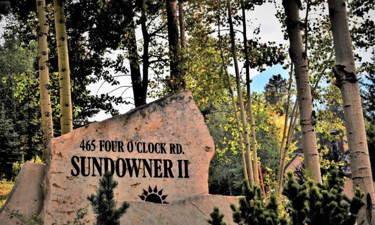 Sundowner II Sign