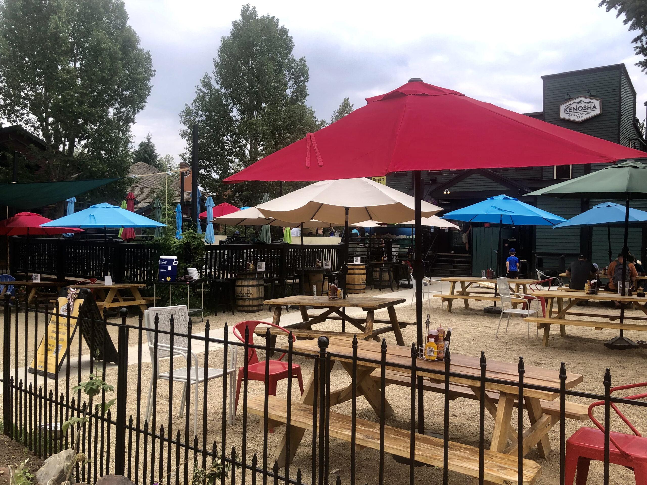 Summer Patio Days in Breckenridge