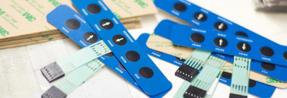 RSP: Custom Membrane Keypads, Switches, Panels