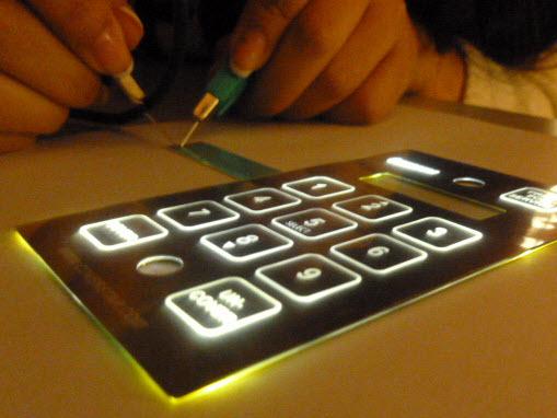Membrane Switch Backlighting: LED & LGF