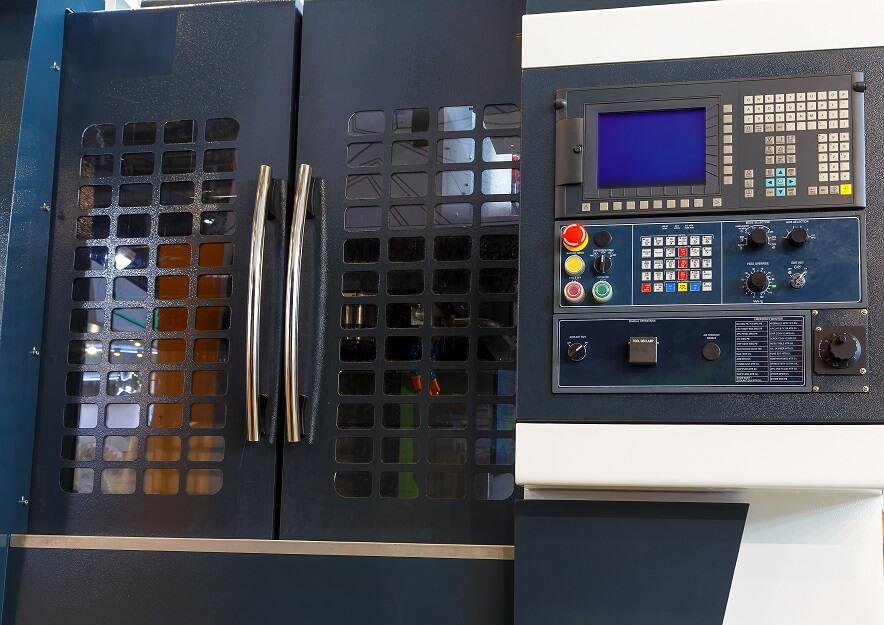 CNC machine control panel CNC