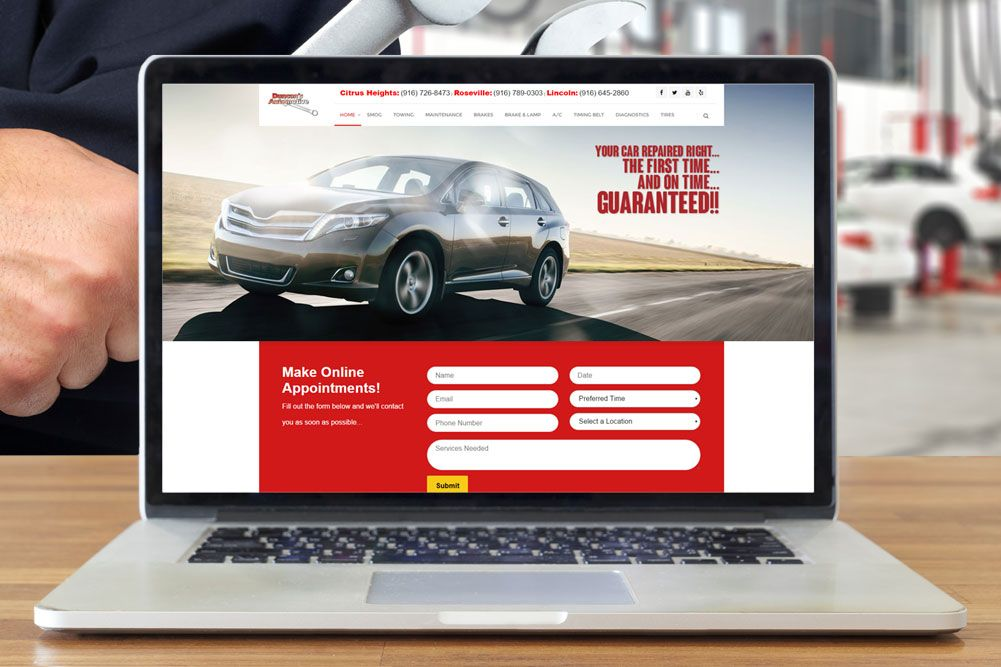 Automotive Repair Digital Marketing Results