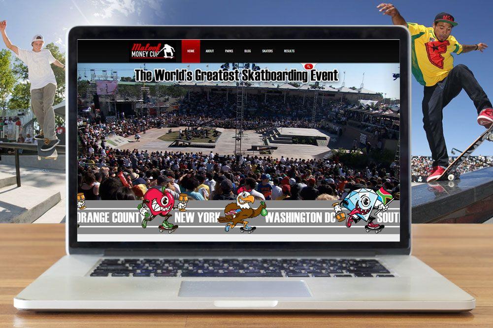 Maloof Money Cup website thumbnail