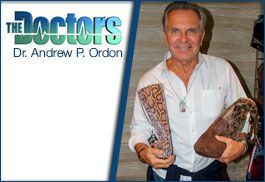 Dr. Andrew Ogden from The Doctors on Tipsy Totes