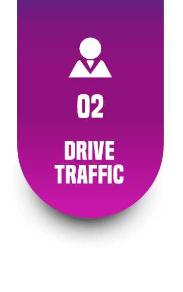 Drive ONLINE Traffic Search Engine Optimization, Pay Per Click Advertising, Social Media Marketing