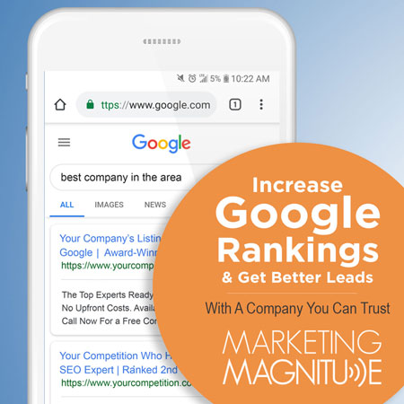 Increase Google Rankings and get better leads with a digital marketing agency you can trust