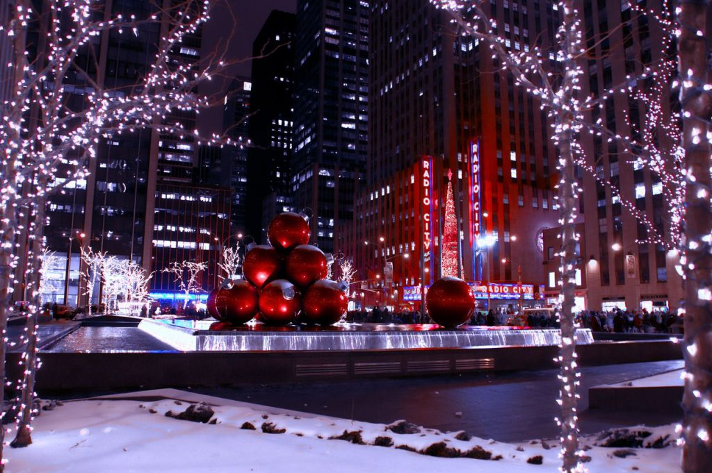 Christmas ball in New YOrk min Best Tour Place