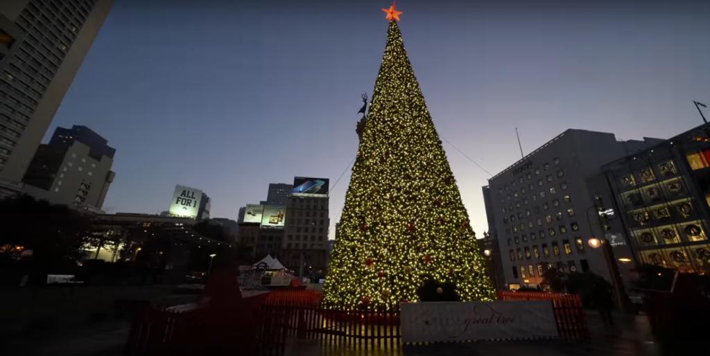 Christmas on San Francisco Best Tour Place