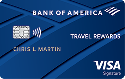 Bank of America® Travel Rewards Credit Card for Students Best Tour Place