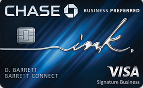 Ink Business Preferred® Credit Card Best Tour Place