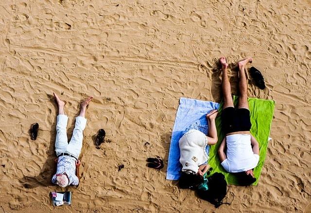 beach sleeping Best Tour Place