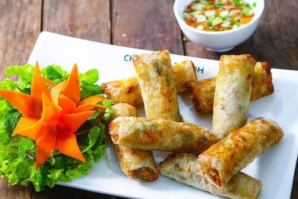 Nem Rán (Vietnamese Fried Spring Roll)