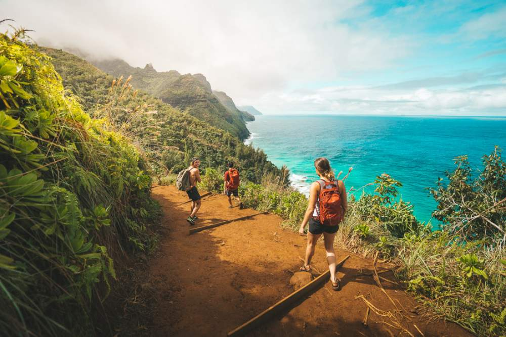 Go hiking through the Nepali coast