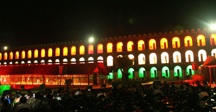 Light And Sound Show In Cellular Jail Best Tour Place