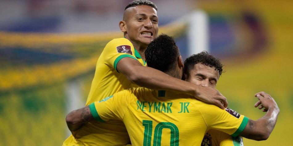 Brasil es el rey del fútbol
