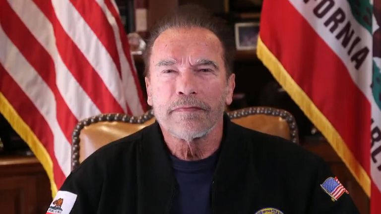 Schwarzenegger compara asalto al Capitolio