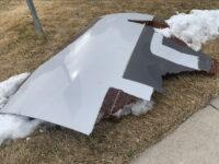 Caen en Broomfield piezas de avión que aterrizó de emergencia en Aeropuerto de Denver