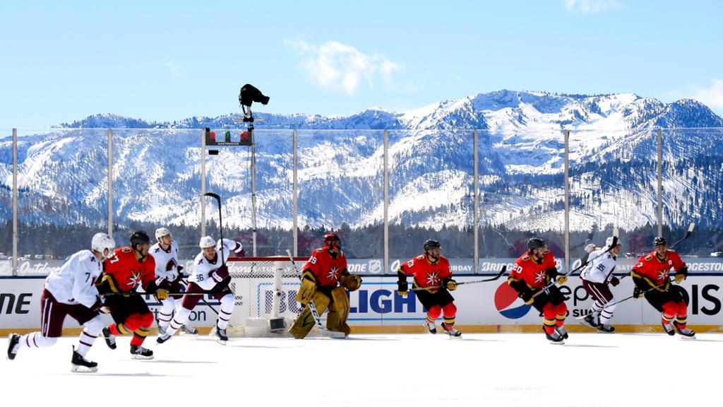 Los Colorado Avalanche volvieron a ganarle a los Golden Knights