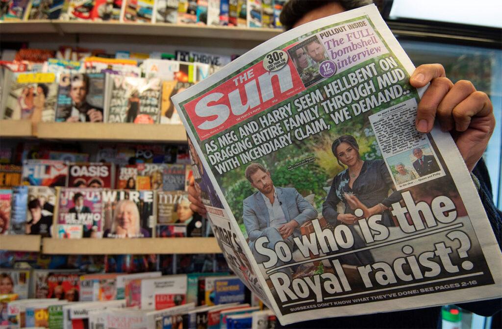 Acusaciones de racismo contra casa real sacuden sociedad británica