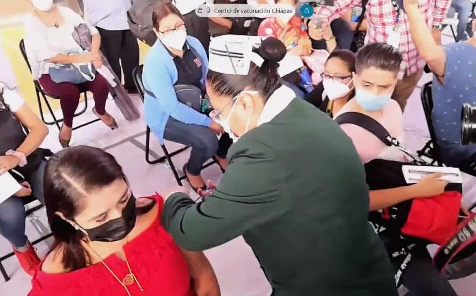 Vacunan maestros