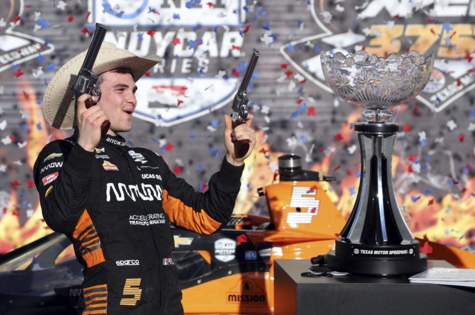 Mexicano gana en la Indycar