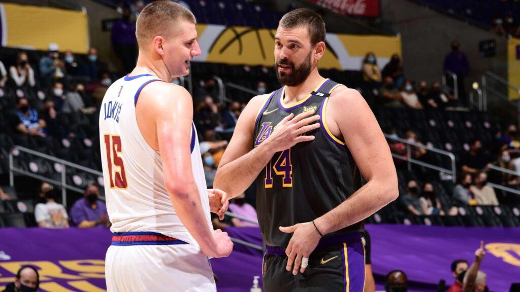 Los Nuggets vivieron en el Staples Center lo que les espera en Playoff