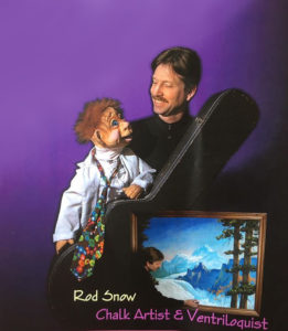 Kids Spring Break - Chalk Artist and Ventriloquist Presented by Rod Snow