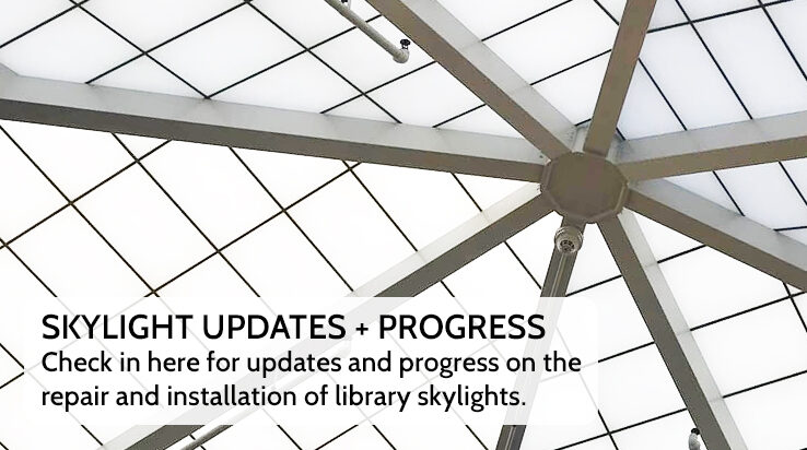 Skylight Installation Update