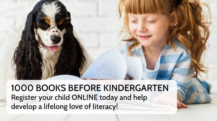 1000 Books Before Kindergarten – Sign Up Online!