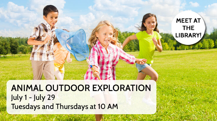 Animal Outdoor Explorations at the Library