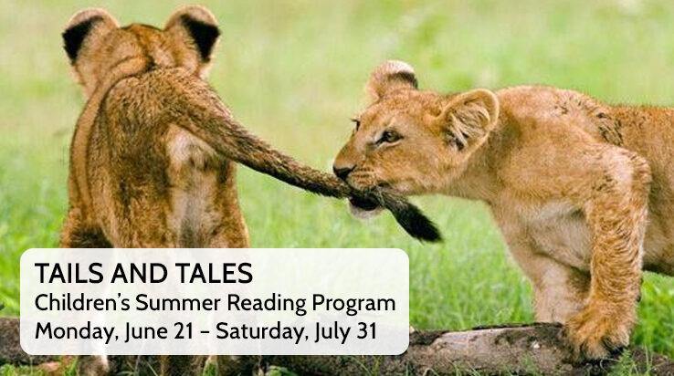 Tails & Tales – Children's Summer Reading Program
