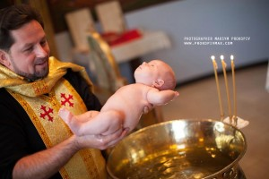 Baptism by immersion in warm, oily water gives the catechumen a feeling of being entirely enveloped by the Holy Spirit.