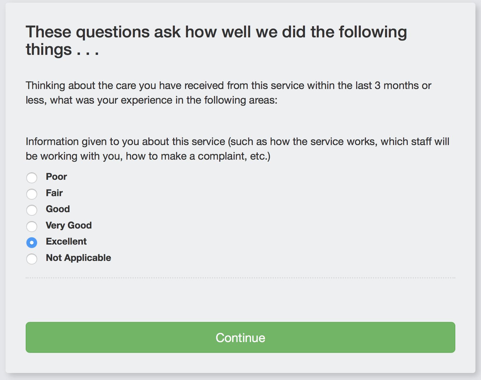 YES Survey - PREM