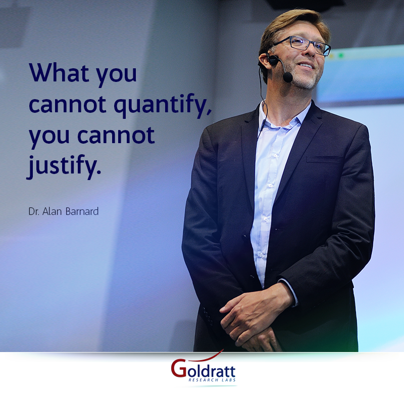 What you cannot quantify, you cannot justify.