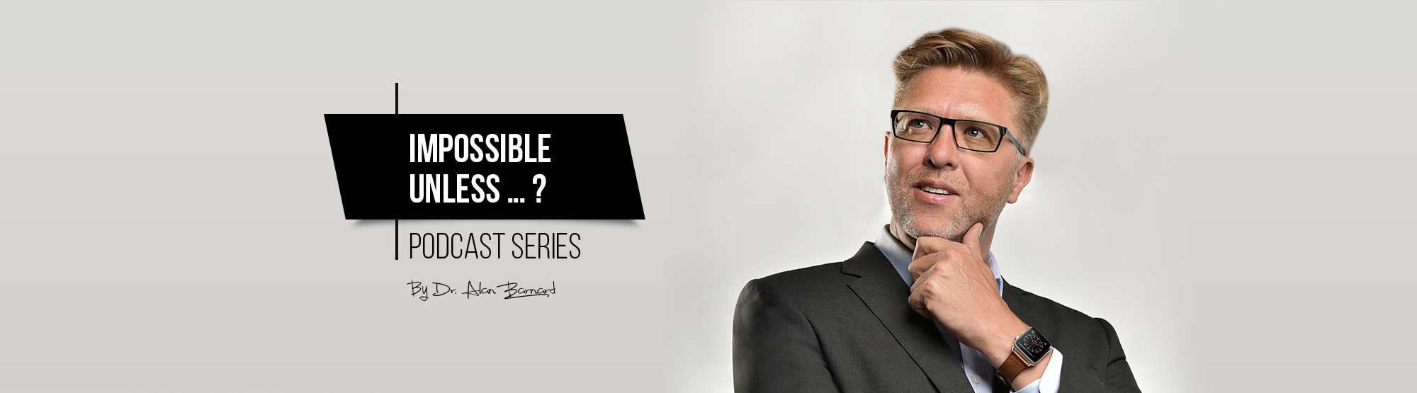 Impossible Unless podcast, episode 4 - operational performance