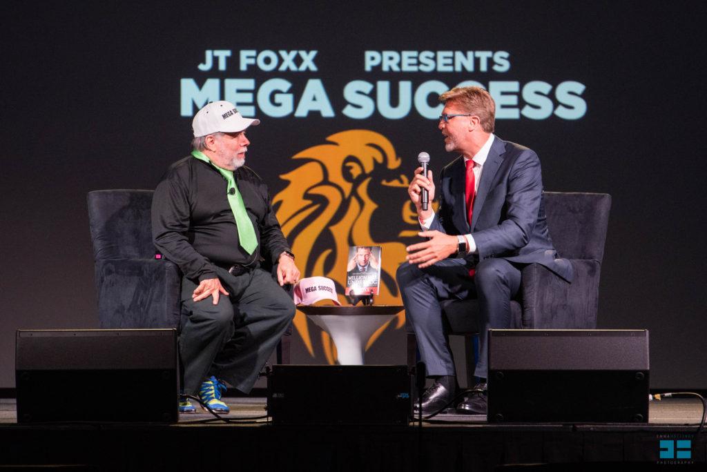 Dr Alan Barnard and Steve Wozniak