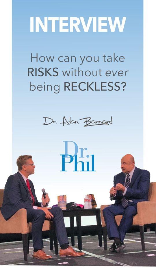 Interviewing Dr Phil at Mega Success 2019