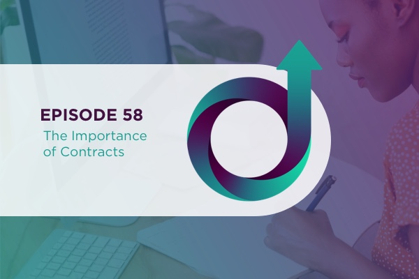 58 – The Importance of Contracts via @jillianflodstrom