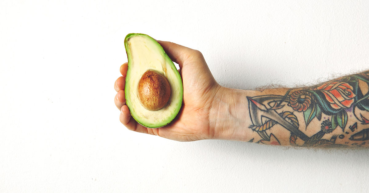 how to cut an avocado