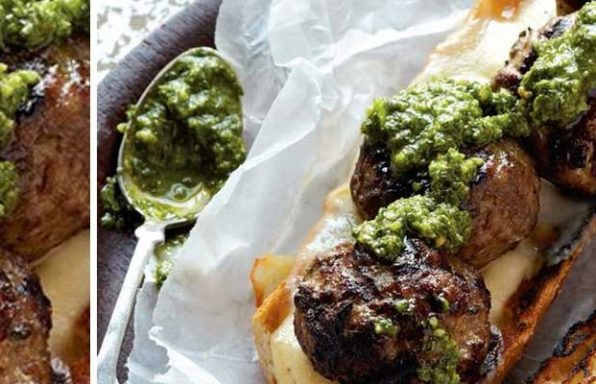 grillec meatball sandwiches